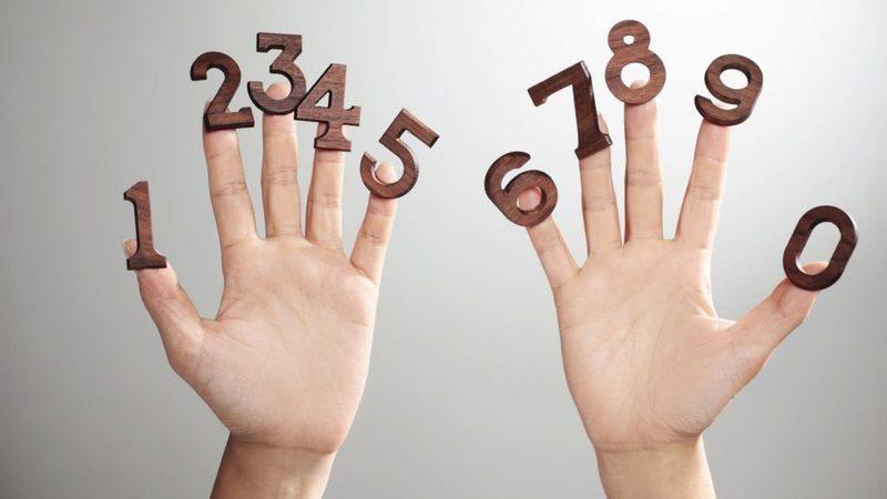 Все числа - на наших пальцах