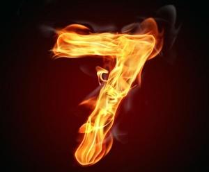 Цифра семь в нумерологии
