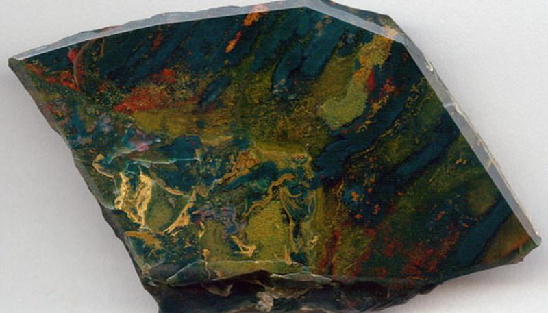 Гелиотроп в камне