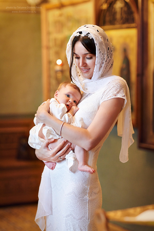 Как крестят детей