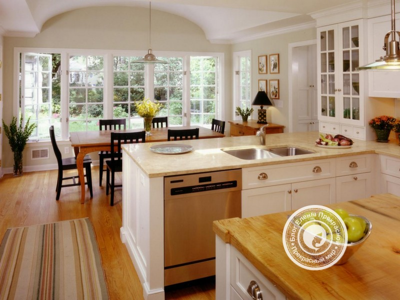 интерьер кухни по фен шуй
