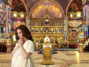 Беременность по походы в церковь