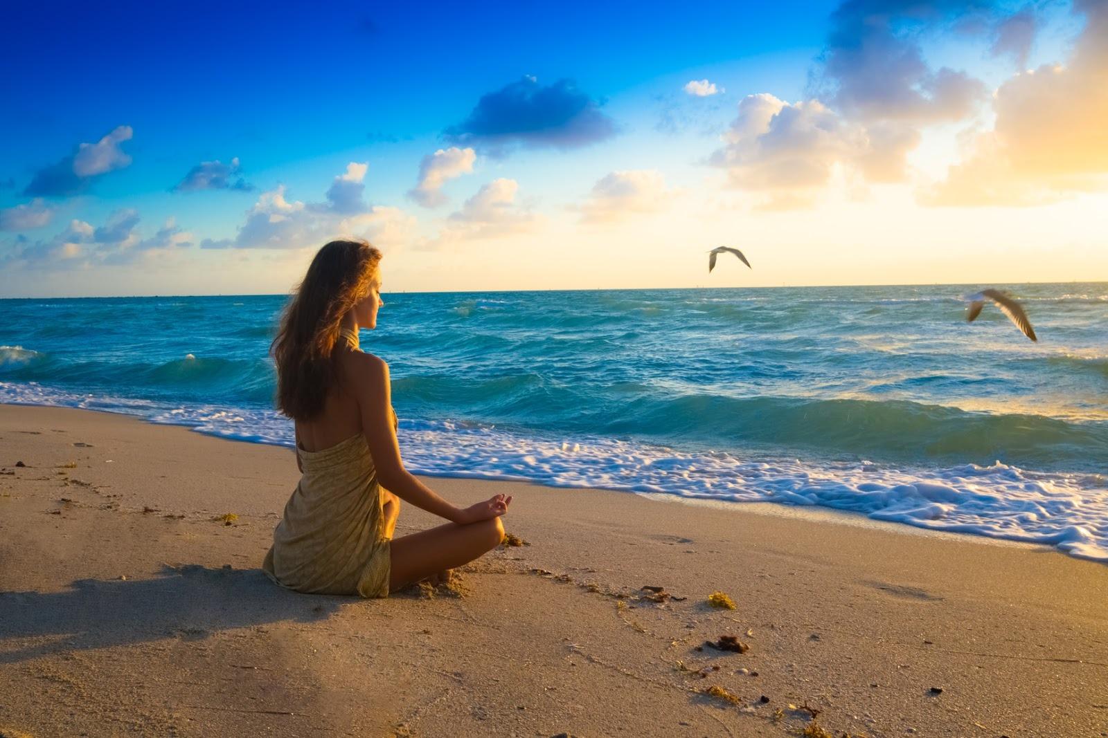 расслабление под гавайскую медитацию