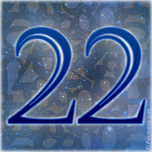 22 число значение