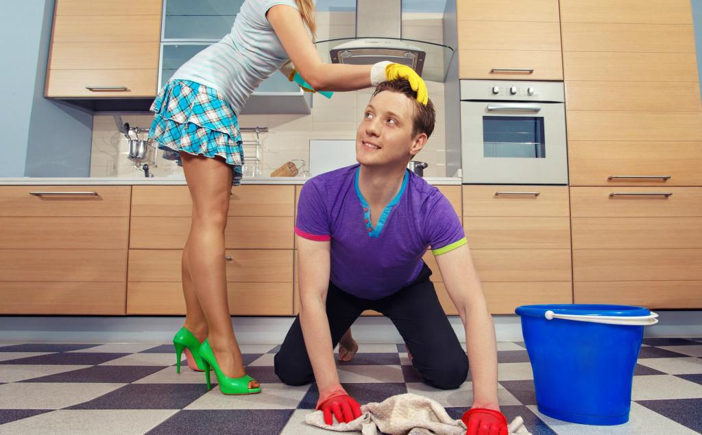 Видеть во сне мыть полы