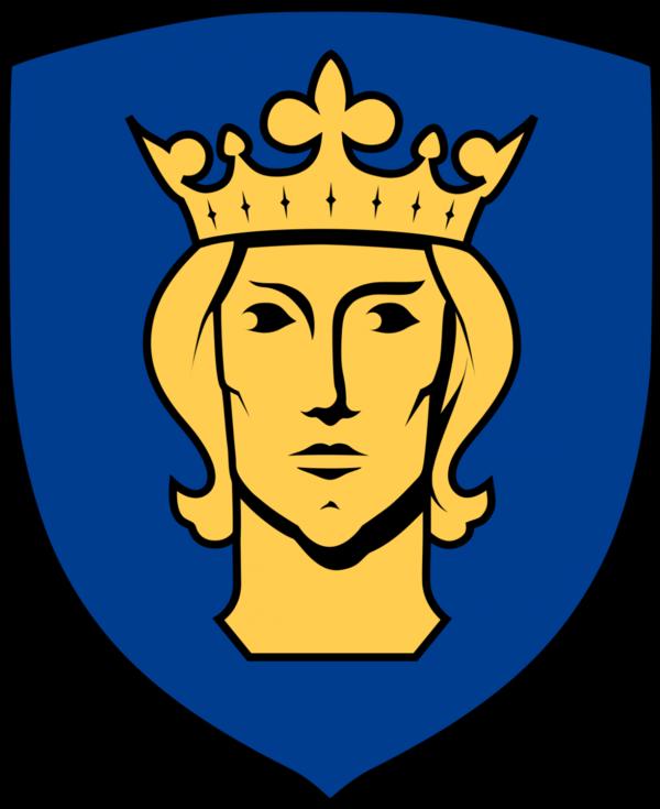 Герб Стокгольма с изображением Эрика Шведского