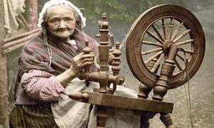 Портрет бабушки в народном ремесле - хороший знак