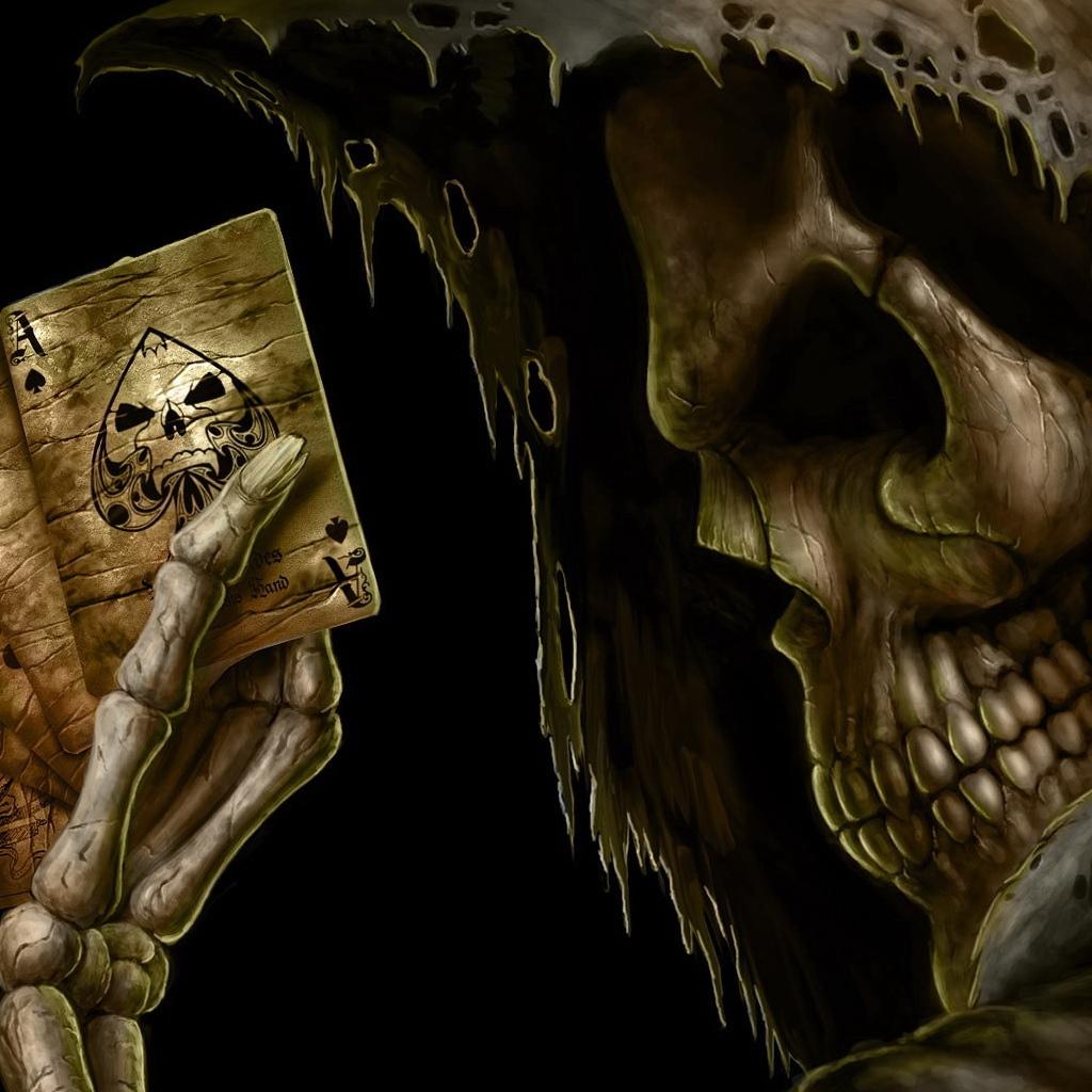 Мрачный скелет